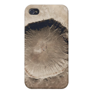 A meteorite impact crater iPhone 4 case