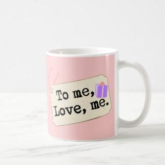 A mí, ámeme taza clásica