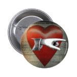 A mi botón del corazón pins