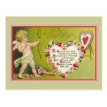 A mi dardo de los Cupids de la tarjeta del día de  Postales