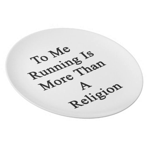 A mí el funcionamiento es más que una religión plato de cena