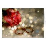 A mi esposa - boda del día de boda tarjetas