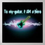 A mi guitarra, SOY un héroe Impresiones