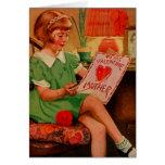 A mi madre de la tarjeta del día de San Valentín