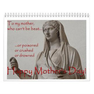 A mi madre, que no puede ser golpe… calendario