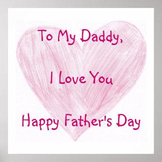 A mi papá póster