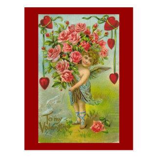 A mi querube de la tarjeta del día de San Valentín Postal