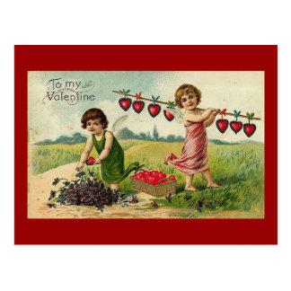 A mi tarjeta del día de San Valentín (12) Tarjetas Postales