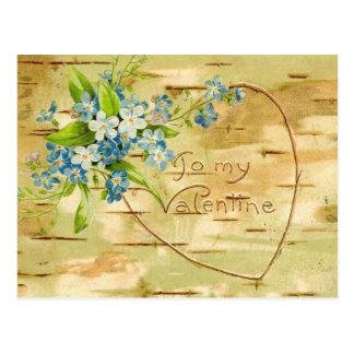A mi tarjeta del día de San Valentín (2) Tarjetas Postales