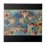 A mi tarjeta del día de San Valentín Azulejo