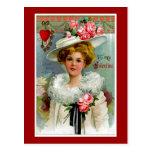 A mi tarjeta del día de San Valentín del Victorian Postal