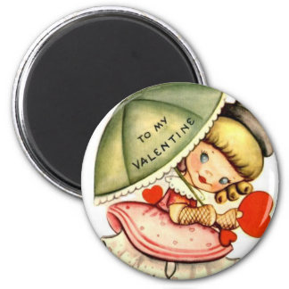 A mi tarjeta del día de San Valentín Iman