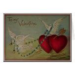 A mi tarjeta del día de San Valentín - tarjeta de