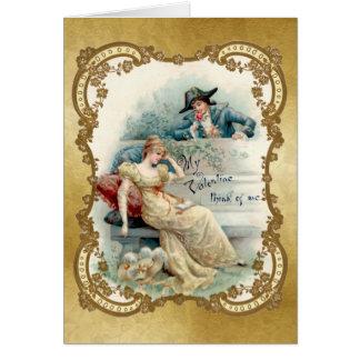 A mi tarjeta del día de San Valentín - tarjeta del