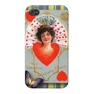 A mi tarjeta del día de San Valentín, vintage romá iPhone 4 Carcasa