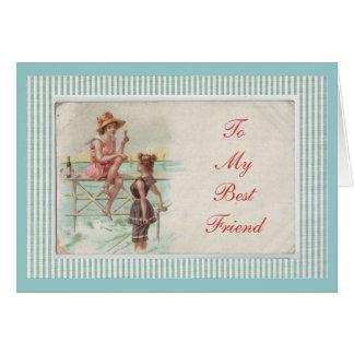 A mi tarjeta del mejor amigo