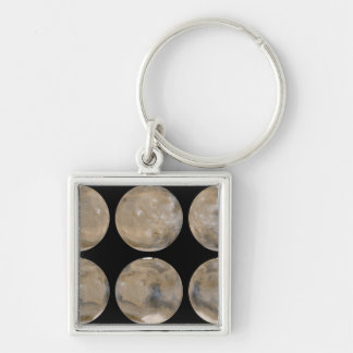 A Mid-Northern Summer/Southern Winter on Mars Keychain
