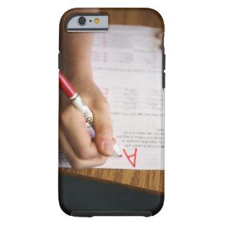 A middle school teacher puts a grade on a tough iPhone 6 case