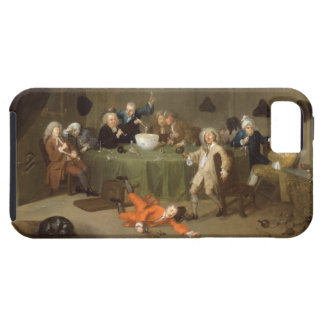 A Midnight Modern Conversation, c.1732 (oil on can iPhone SE/5/5s Case