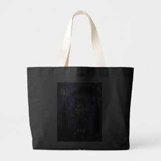 A Midnight Stroll Jumbo Tote Tote Bag
