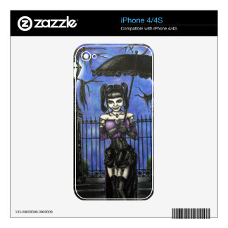 A Midnight Stroll skin Skin For The iPhone 4S