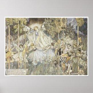 A Midsummer Night's Dream, 1907 Poster
