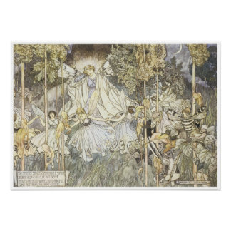 A Midsummer Night's Dream, 1907 Poster