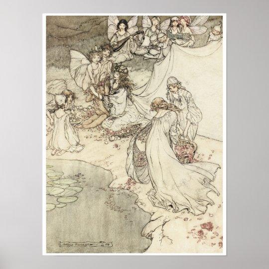 A Midsummer Night's Dream, 1908 Poster