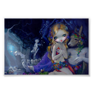 A Midsummer Night's Dream Art Print fairy Titania