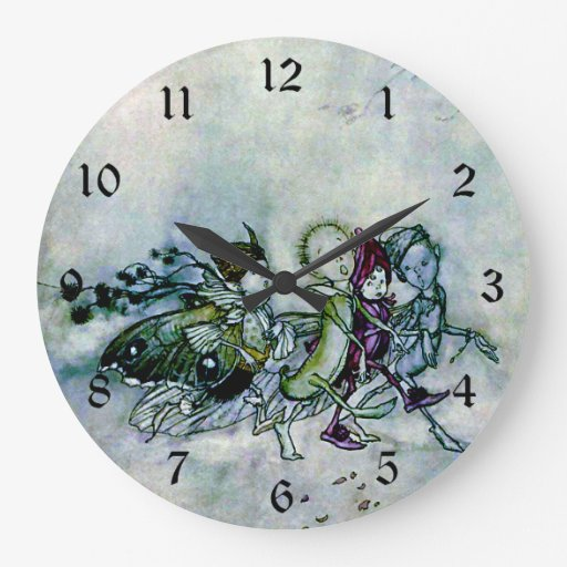 A Midsummer Night's Dream Fairies Wallclocks