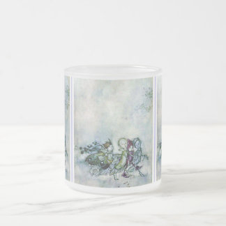 A Midsummer Night's Dream Fairies Frosted Glass Coffee Mug