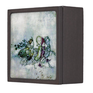 A Midsummer Night's Dream Fairies Jewelry Box