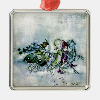A Midsummer Night's Dream Fairies Metal Ornament