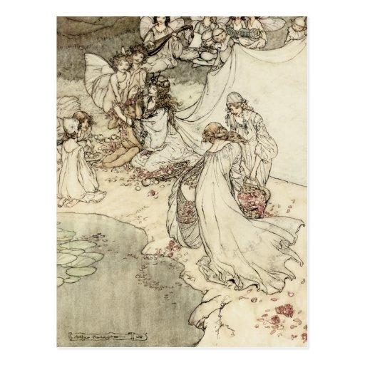 A Midsummer Night's Dream Fairy Postcard
