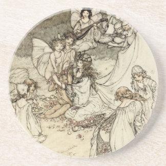 A Midsummer Night's Dream Fairy Sandstone Coaster