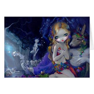 """A Midsummer Night's Dream"" Greeting Card"
