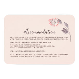 A Midsummer Night's Dream Hotel Enclosure Card