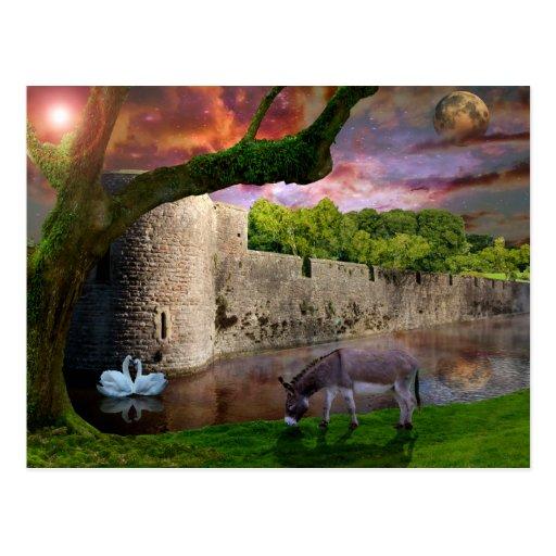 A Midsummer nights Dream. Postcard
