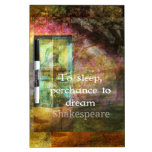 A Midsummer Night's Dream Quote By Shakespeare Dry-Erase Boards