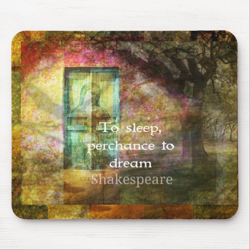 A Midsummer Night's Dream Quote By Shakespeare Mousepad