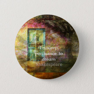 A Midsummer Night's Dream Quote By Shakespeare Pinback Button