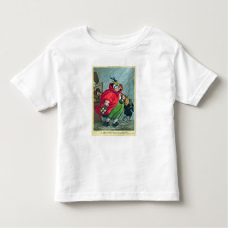 A midwife going to a labour, 1811 toddler t-shirt