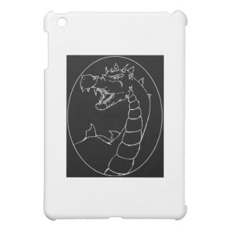 A Mighty Dragon (lined design) iPad Mini Covers