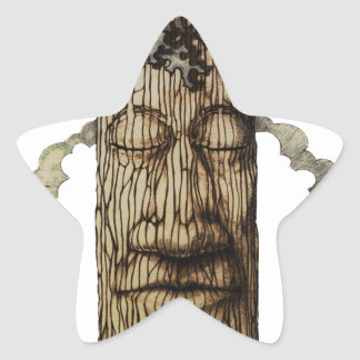 A  Mighty Tree Cover Page Star Sticker