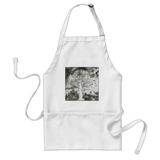 A MIGHTY TREE Page 2 Adult Apron