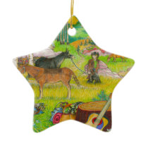 A MIGHTY TREE Page 56 Ceramic Ornament