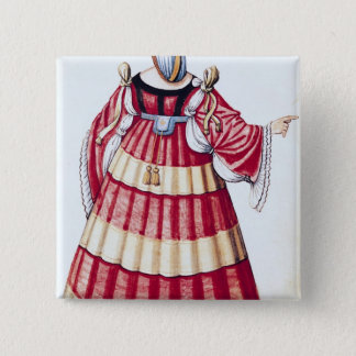 A Milanese Lady Pinback Button