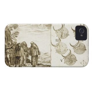 A military attack plotted in accordance with the p iPhone 4 case