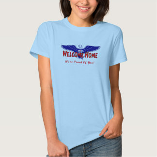 A Military Welcome Home T-Shirt