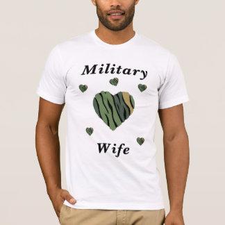 A Military Wifes Love T-Shirt